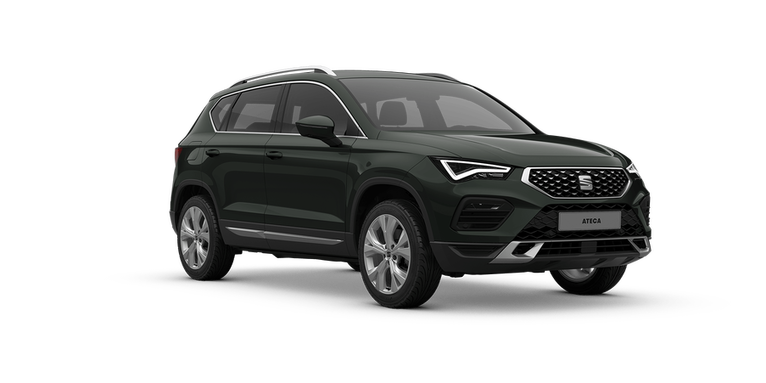 SEAT Ateca in Dark Camouflage